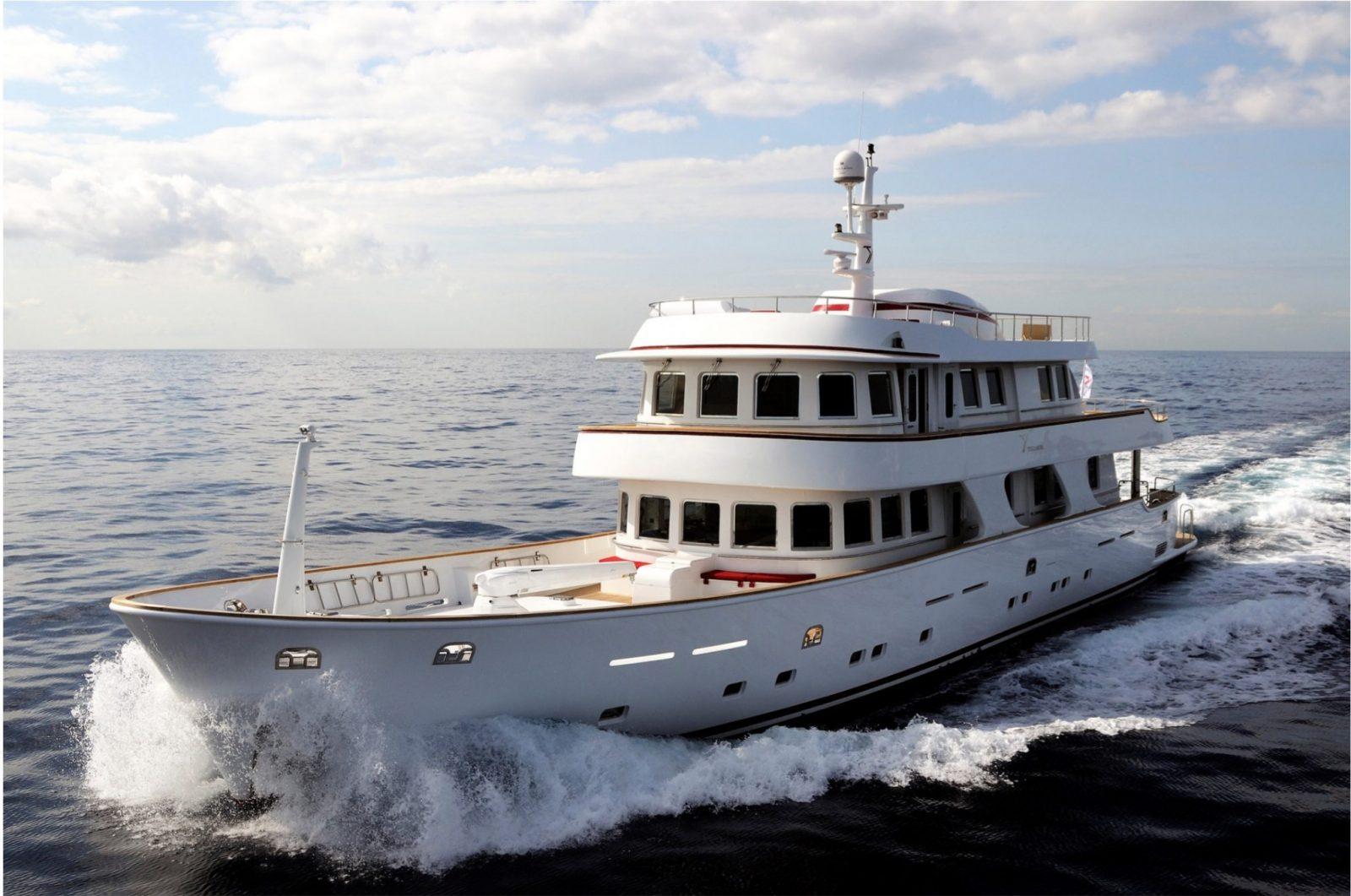 Terranova Yacht TANANAI - Main Shot