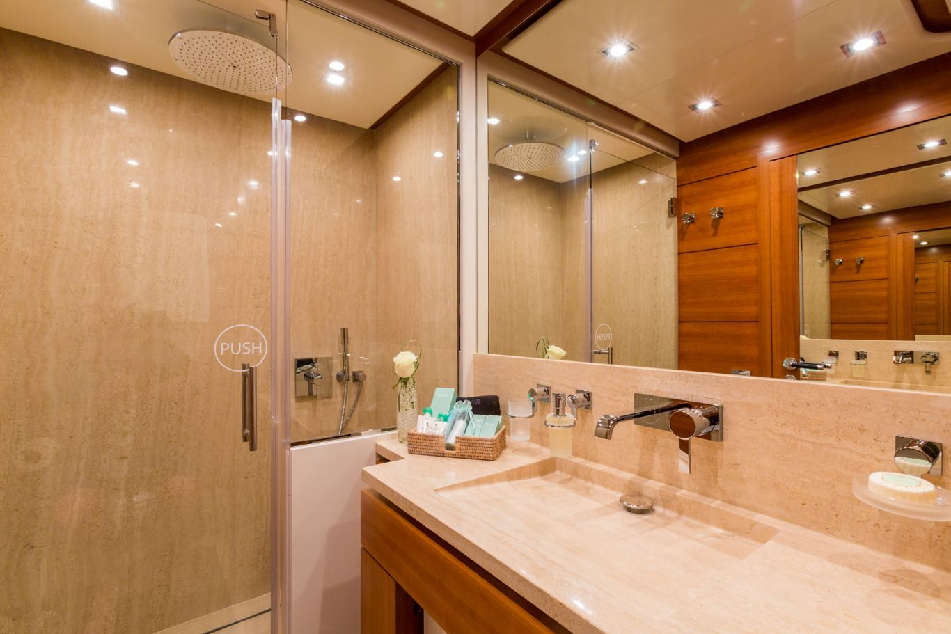 Upper VIP Cabin Bathroom