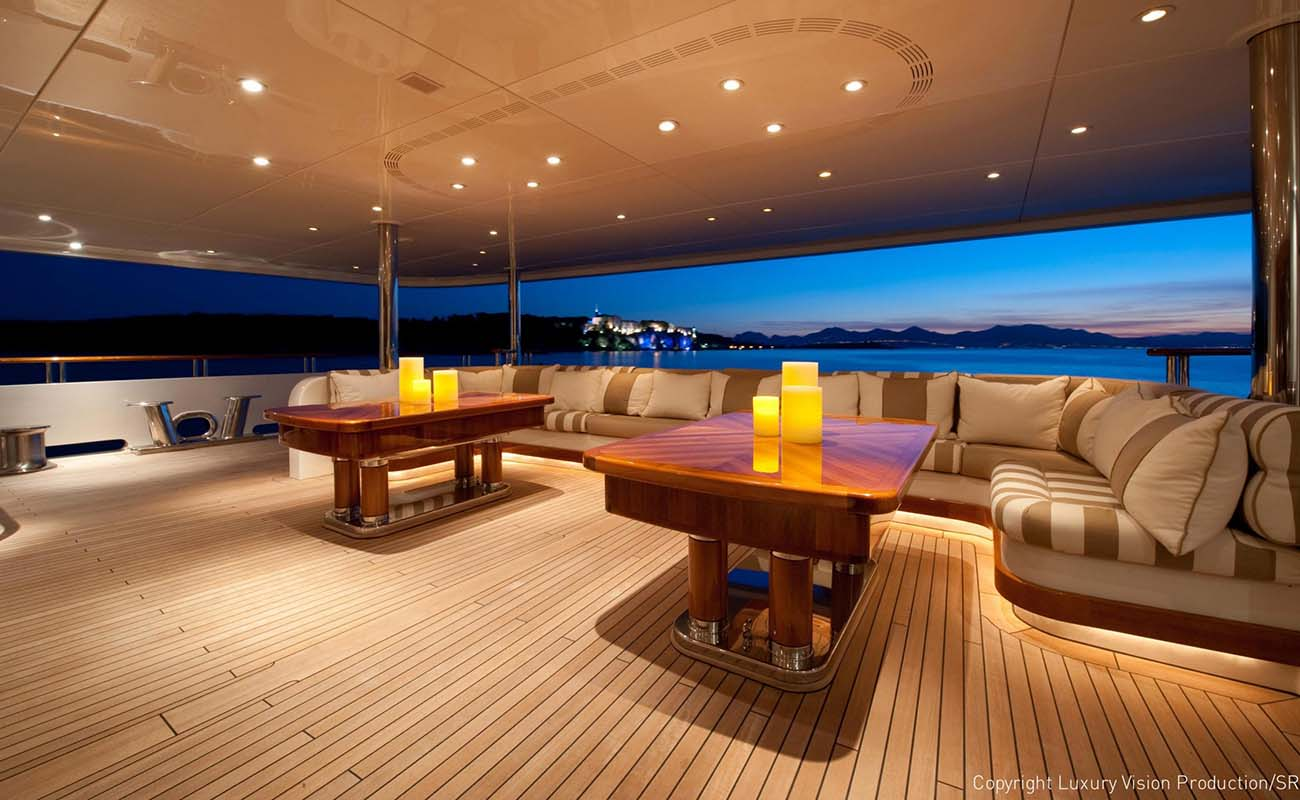 Deck Lounge Image Gallery Luxury Yacht Browser By Charterworld Superyacht Charter