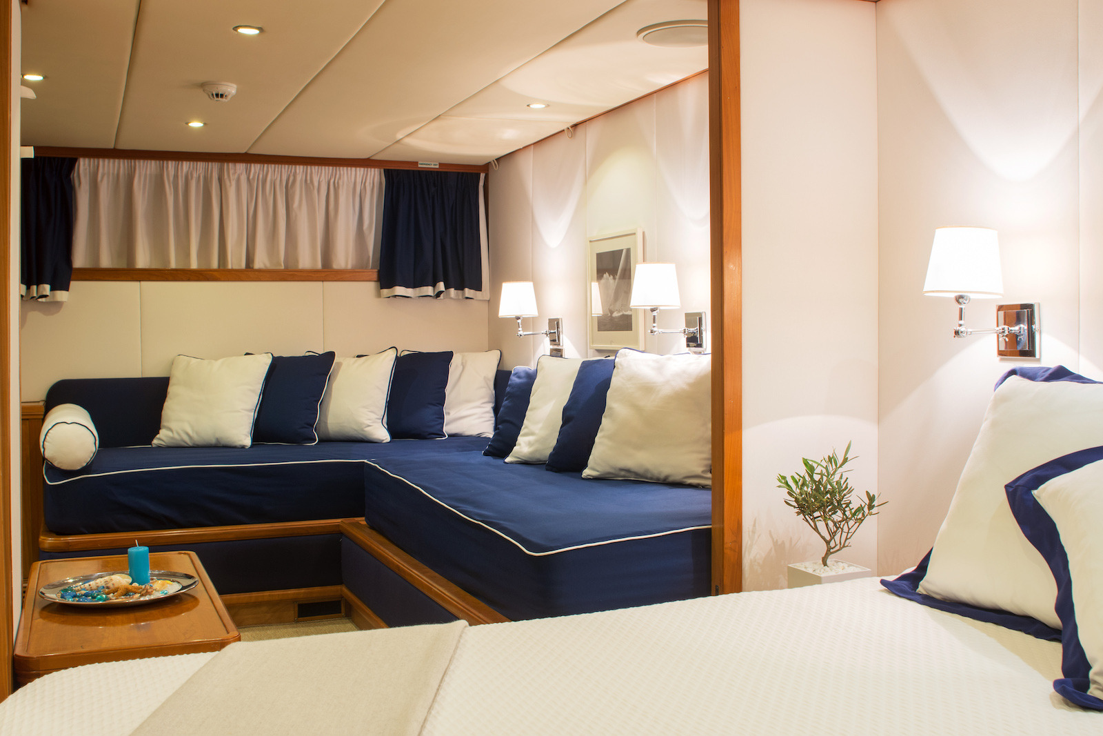 VIP Cabin With Lounge