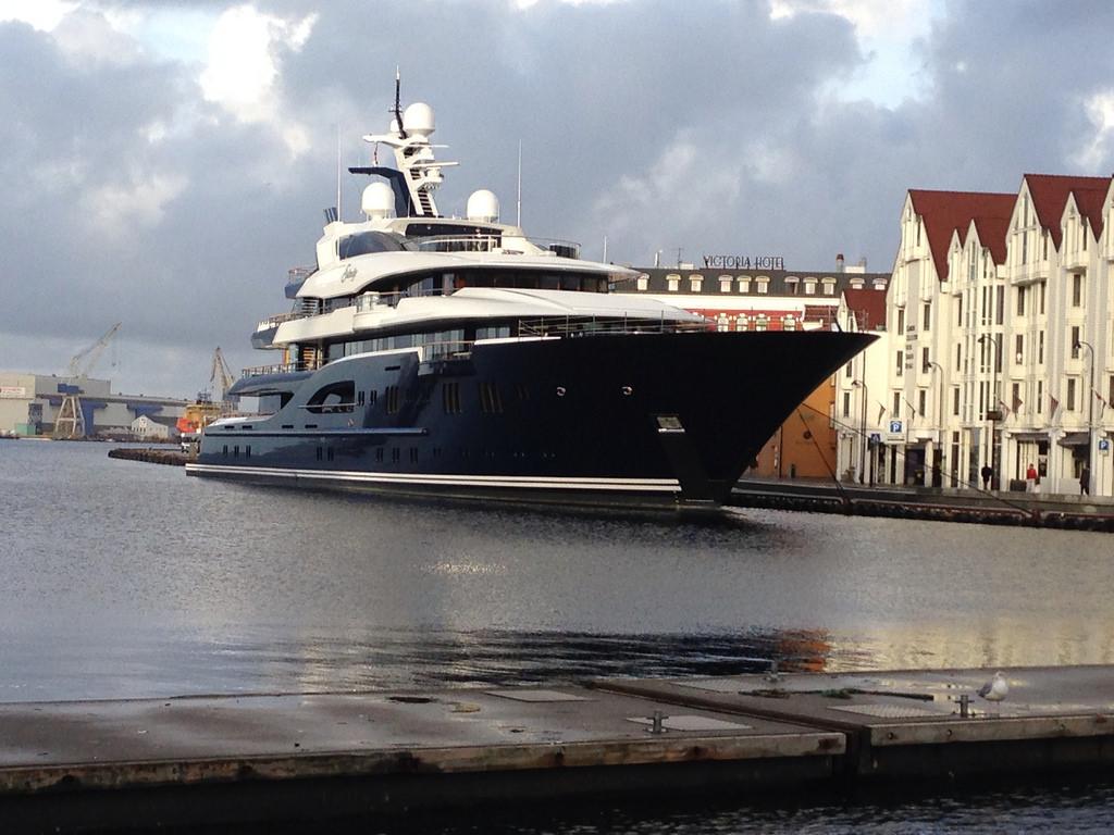 Yacht 'Solange' Stavanger Harbour - By Pål Leiren