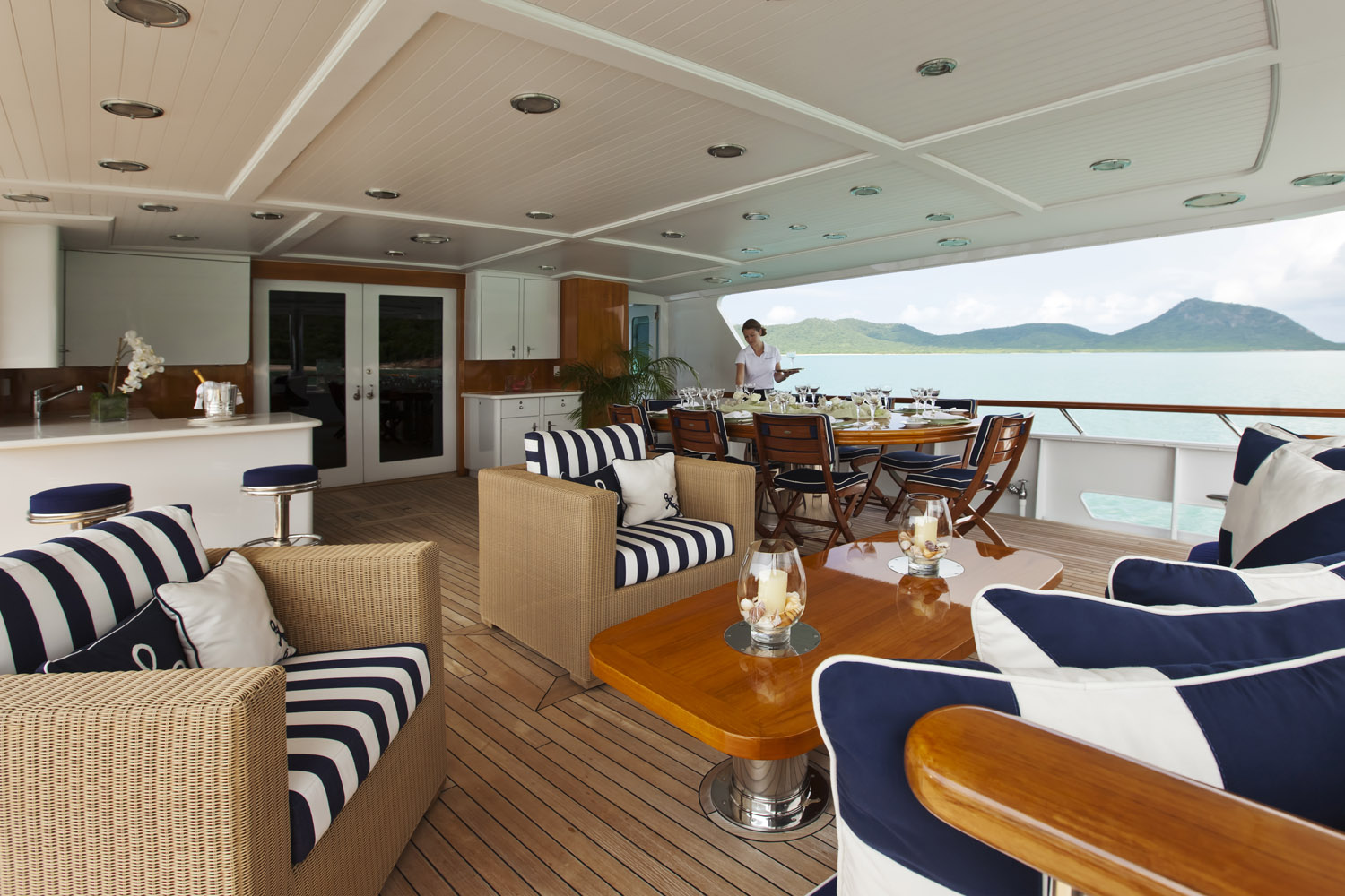 Yacht CHARISMA By Feadship - Aft Deck