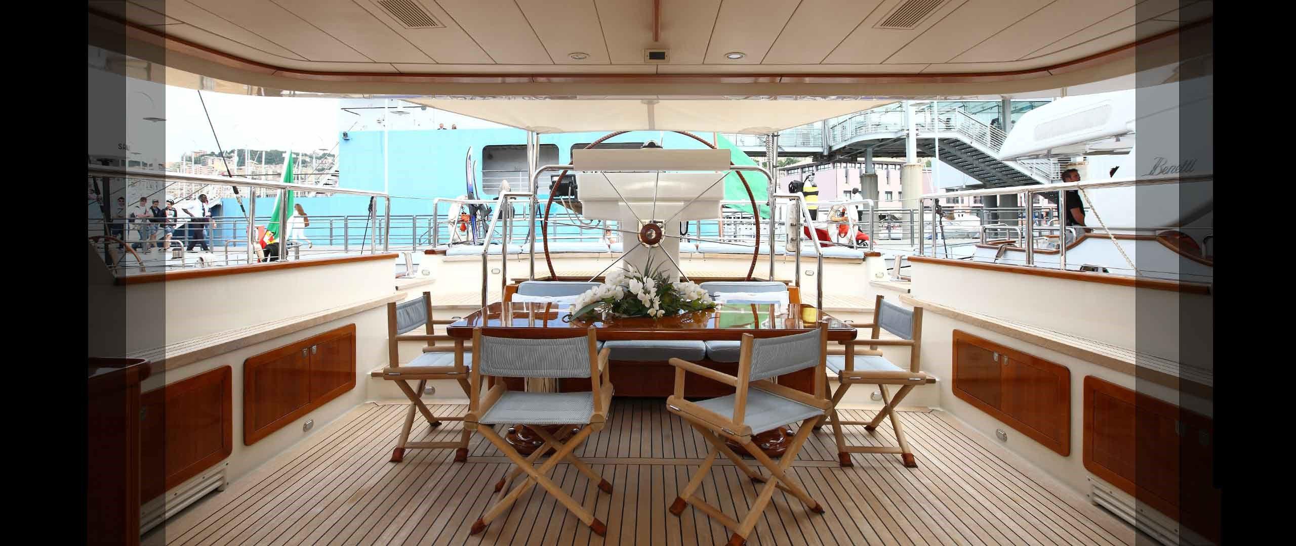 Yacht Heritage M By Pereni Navi - AFT DECK Monaco