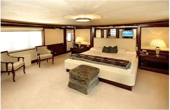 Yacht LADY K II - Cabin