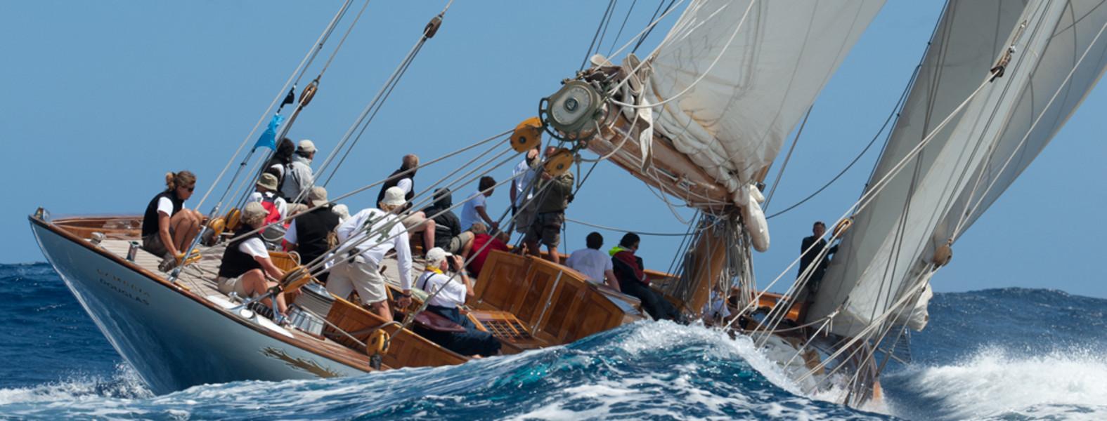 Yacht Moonbeam IV - Panerai Classic Yachts Challenge