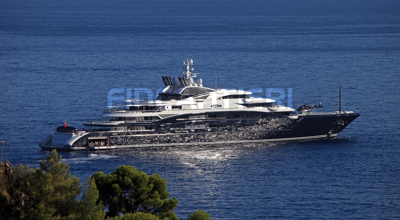 Yacht SERENE By Fincantieri - Profile Morning