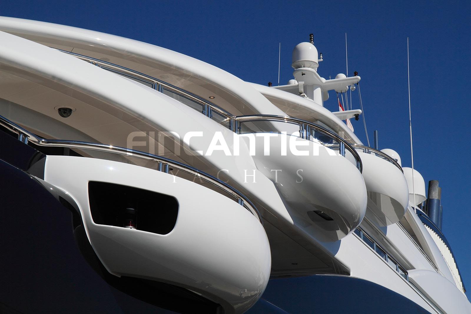 Yacht SERENE By Fincantieri - Side