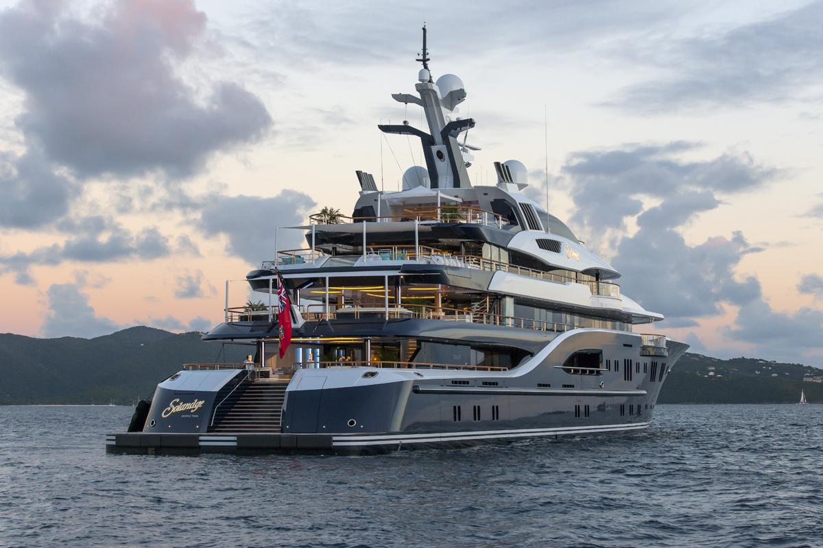 Yacht Solandge - Caribbean Aft