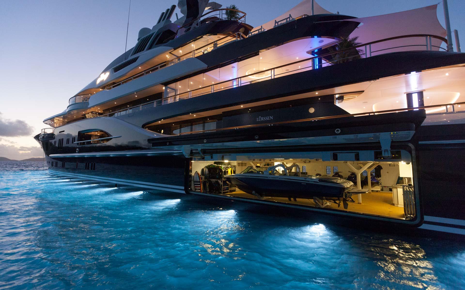 Yacht Solandge - Garage