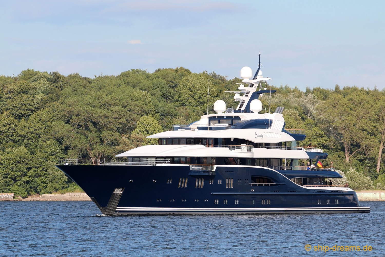 Yacht Solandge - Moored
