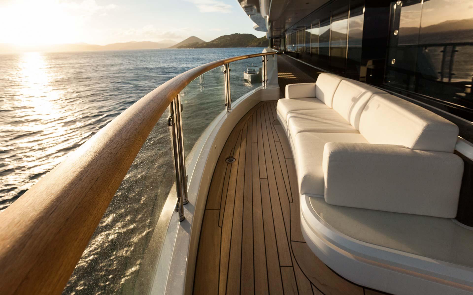 Yacht Solandge - Owner Deck