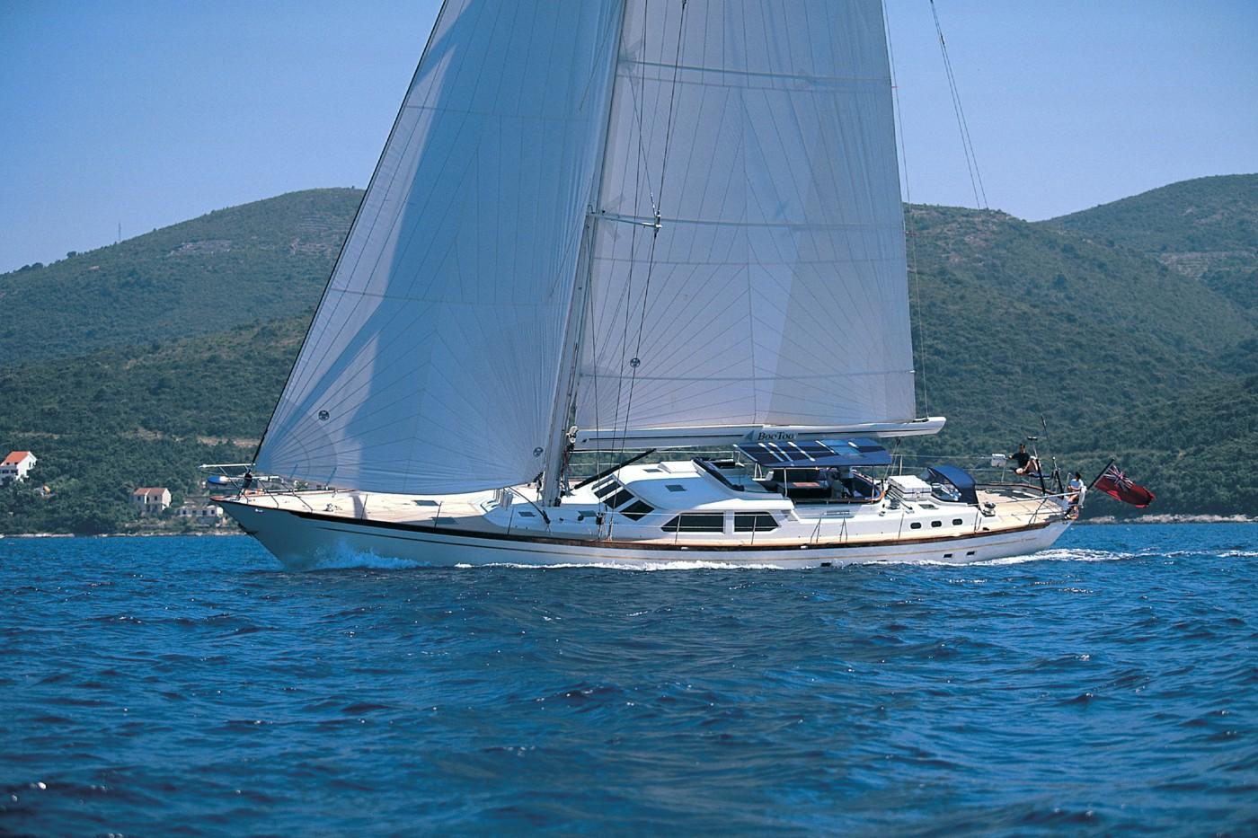 Yacht Wavelength - Sailing