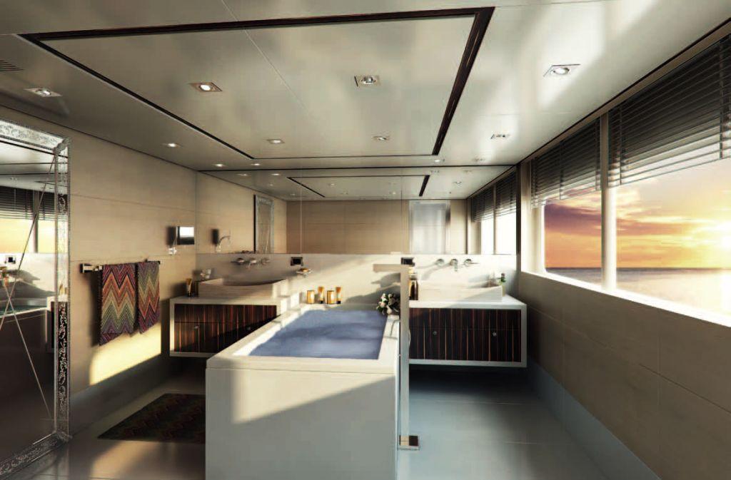 Yacht Told U So Her Bathroom Owner's Suite