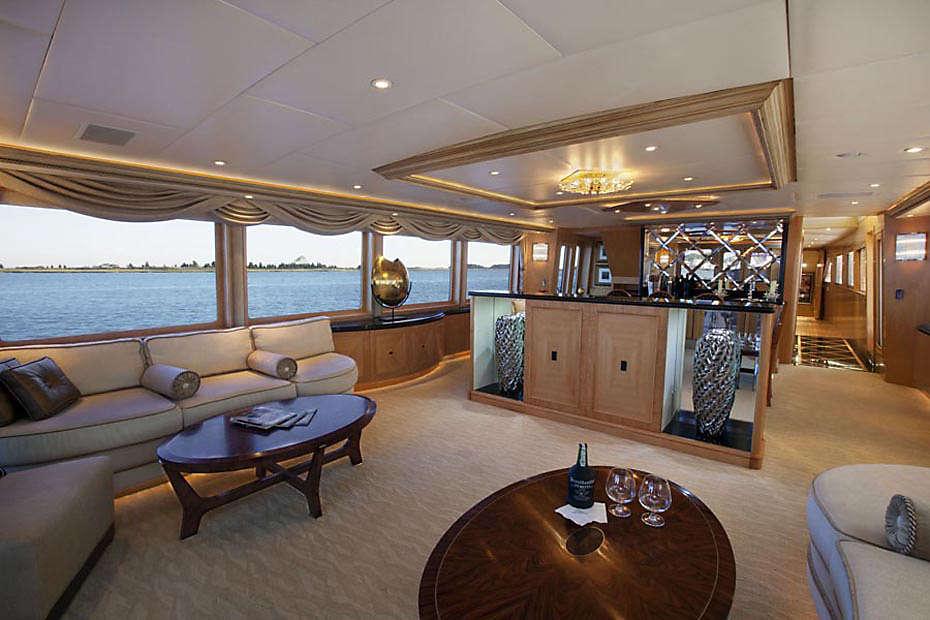 Lady Sharon Gale Yacht Saloon