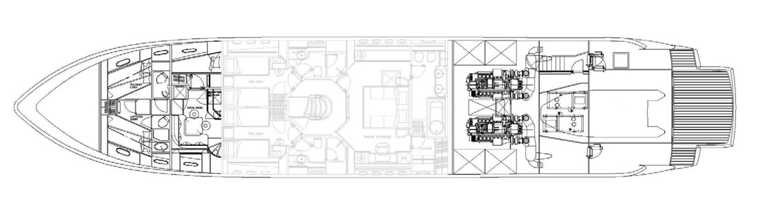 Lower Deck - Plan