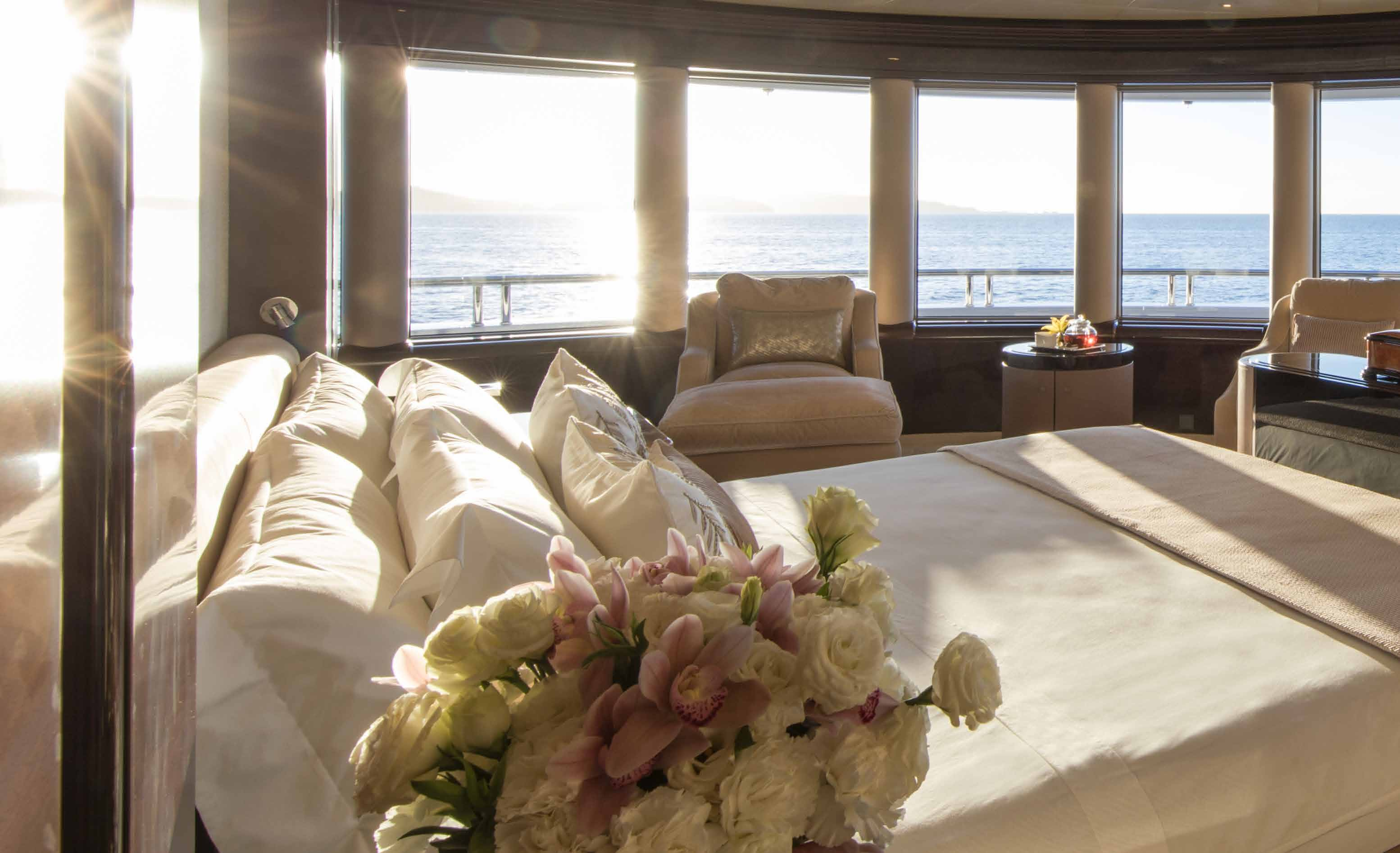 Master Stateroom With Amazing Views
