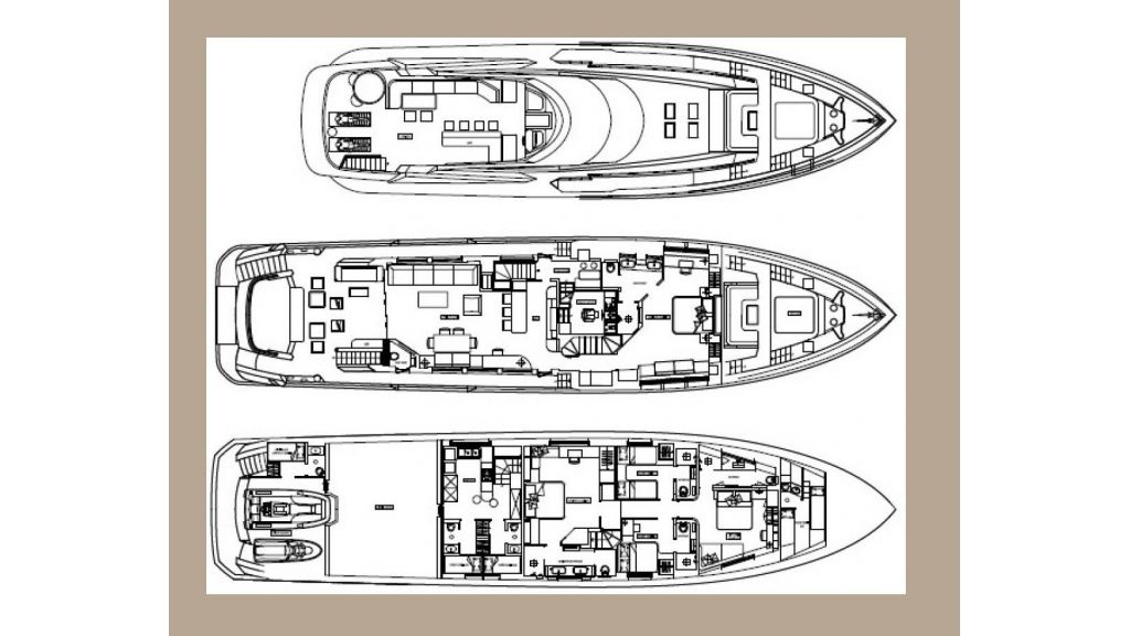 Yacht Meya Meya Motoryacht Loyout