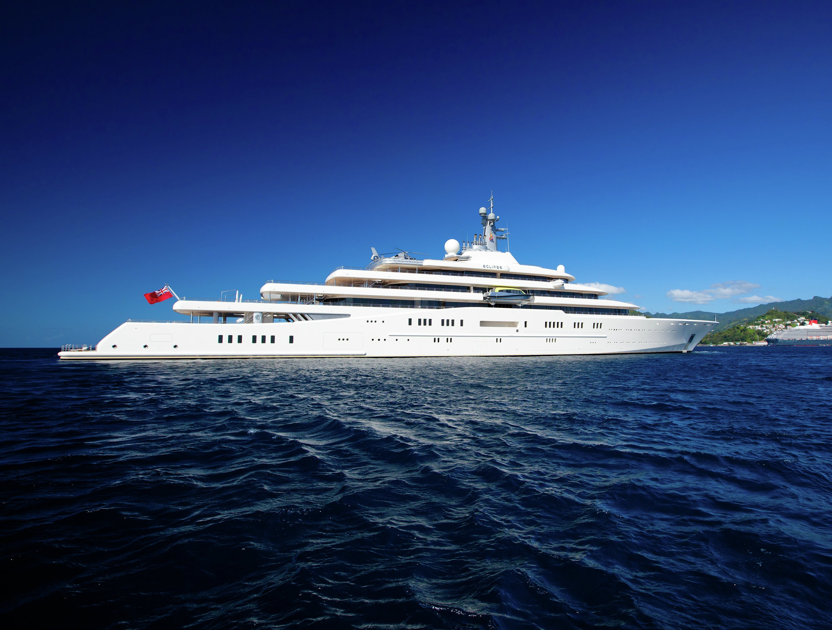 The 162m Yacht ECLIPSE