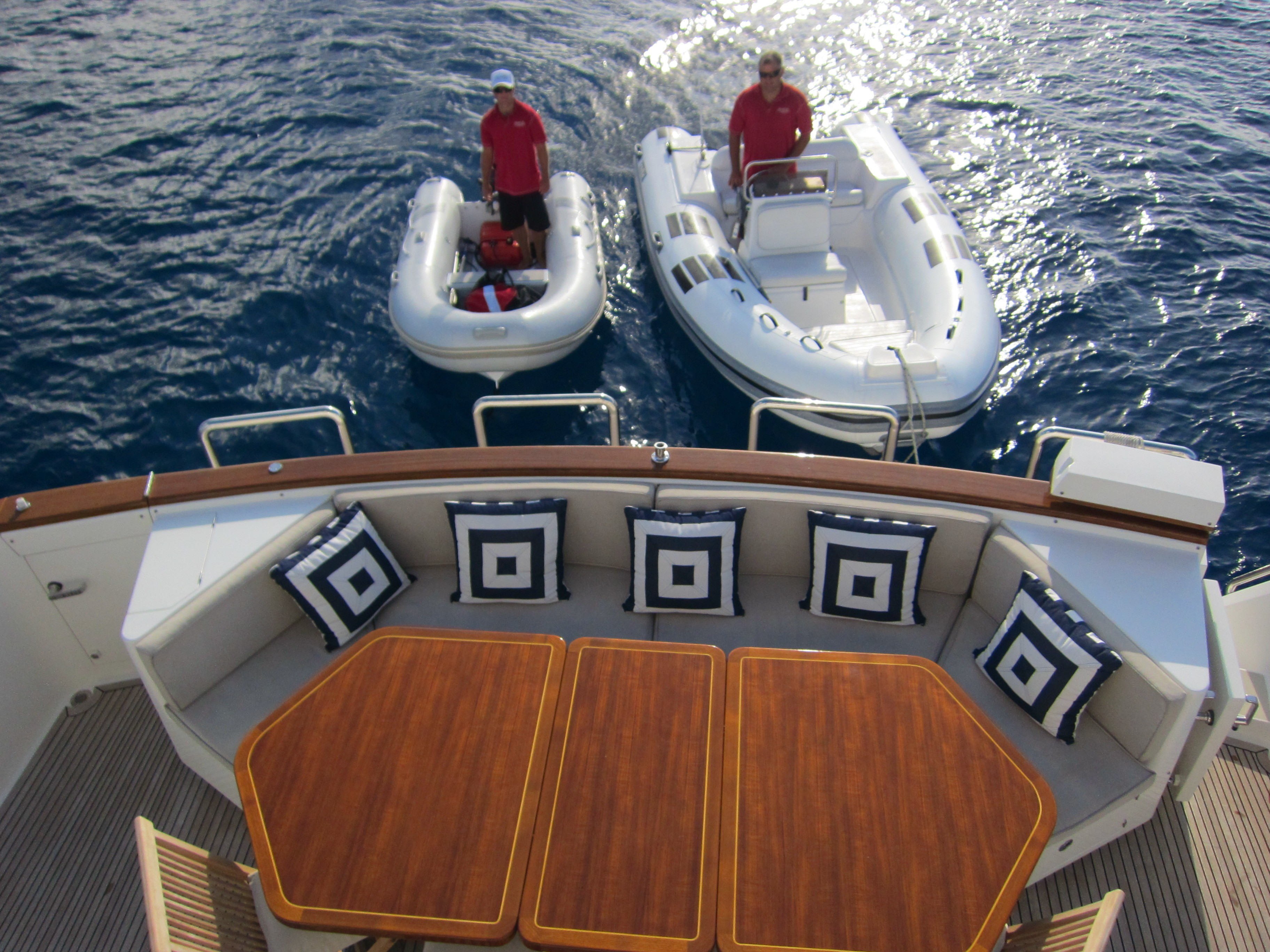 Life On Board Yacht BEYOND CAPRICORN