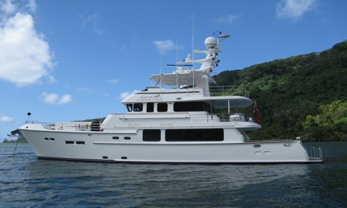 The 23m Yacht BEYOND CAPRICORN