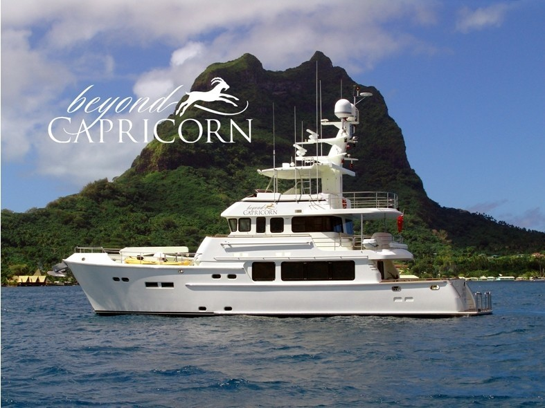 The 23m Yacht BEYOND CAPRICORN