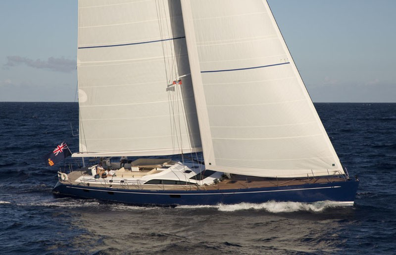 The 25m Yacht PTARMIGAN
