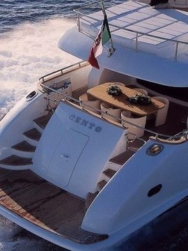 The 26m Yacht CENTO BY EXCALIBUR