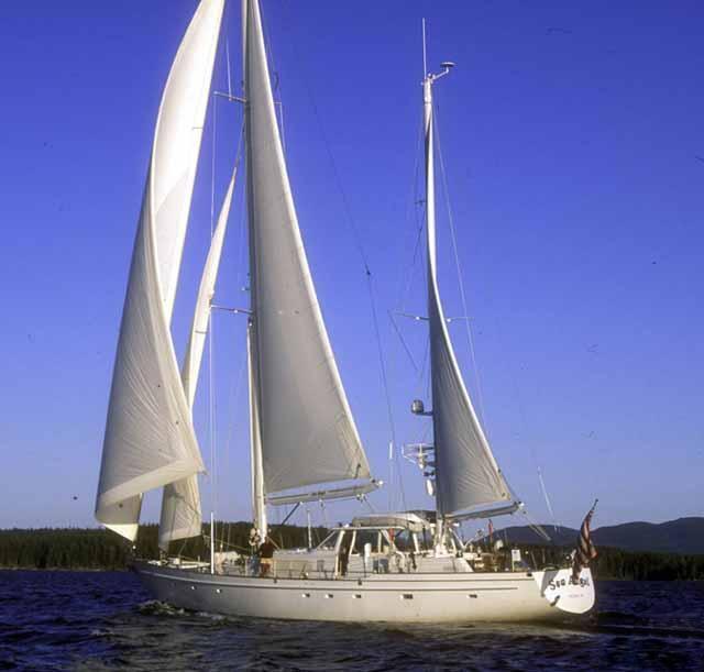 The 26m Yacht SEA ANGEL