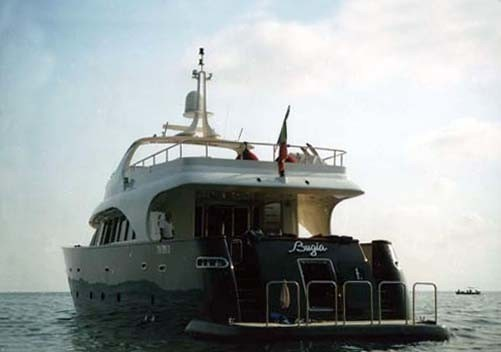 The 27m Yacht BUGIA
