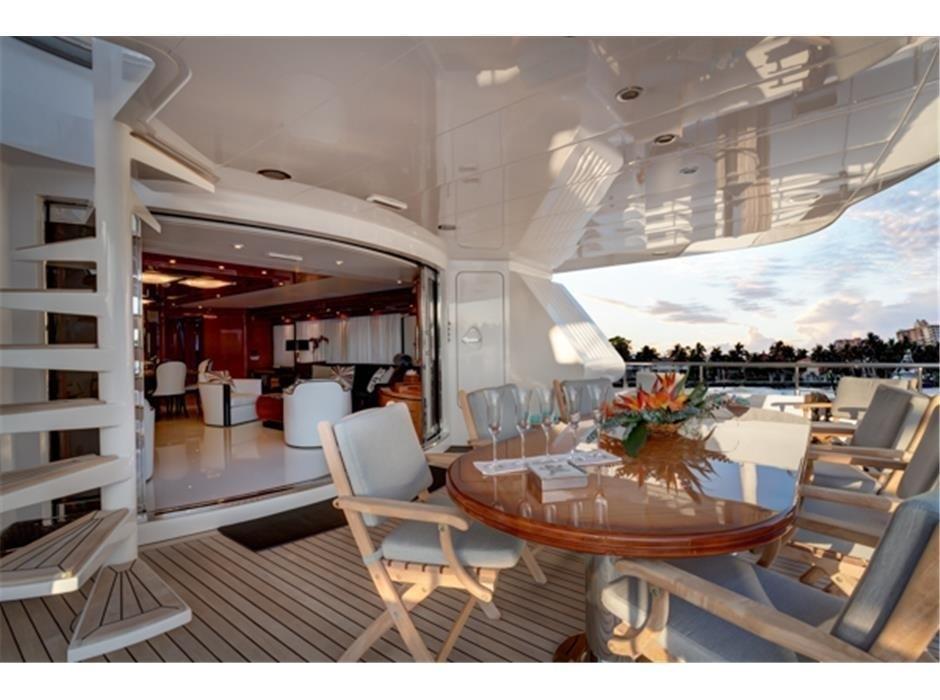 The 34m Yacht MILOS AT SEA