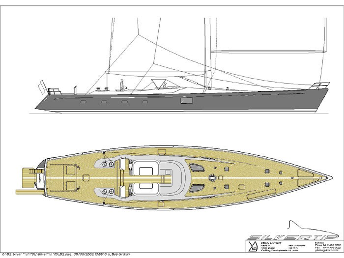 The 34m Yacht SILVERTIP