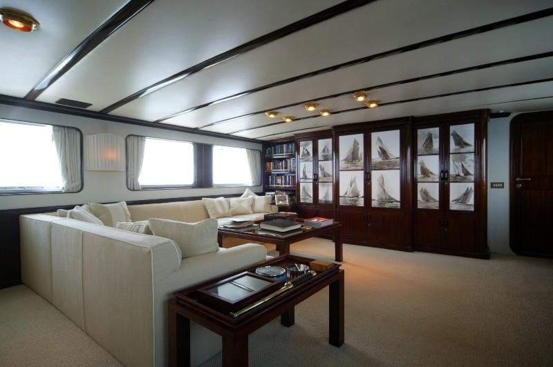 Saloon Profile On Yacht INDIA