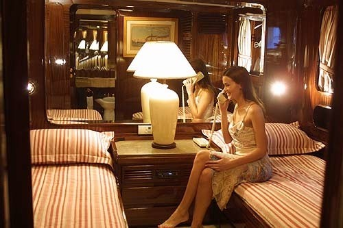 Twin Bed Cabin Aboard Yacht INDIA