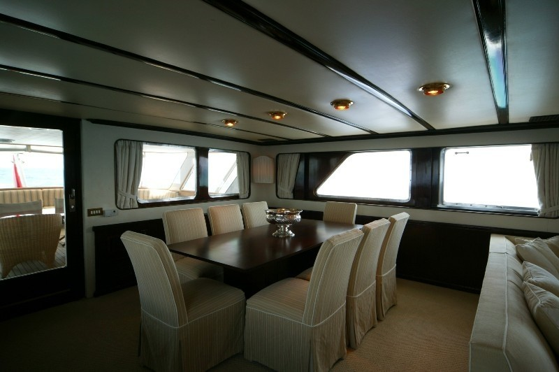 Eating/dining Saloon On Yacht INDIA