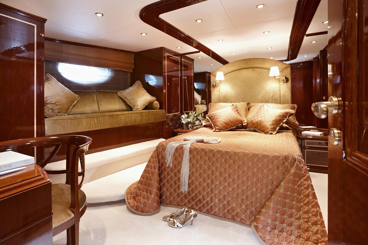 Main Master Cabin On Board Yacht IRAKLIS L