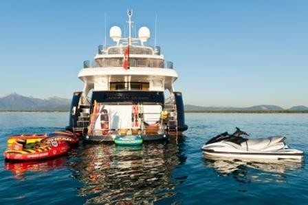 Toys Aboard Yacht AFRICAN QUEEN