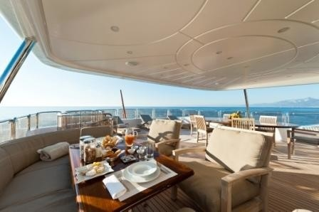 External Eating/dining On Yacht AFRICAN QUEEN