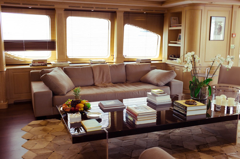 Saloon On Yacht AFRICAN QUEEN