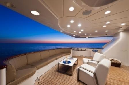 External Sitting On Board Yacht AFRICAN QUEEN
