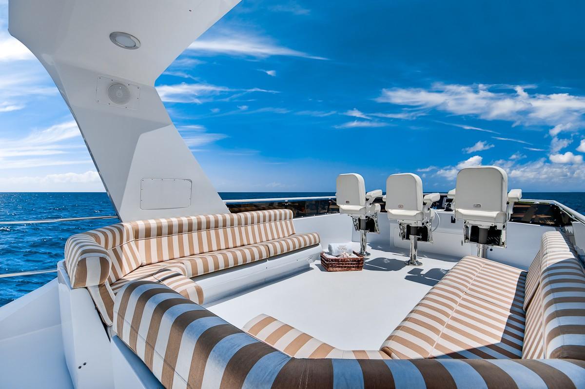 Fly-bridge On Board Yacht ANDIAMO
