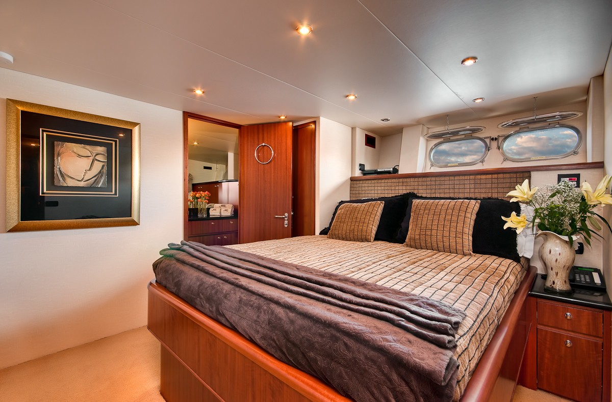 Cabin On Board Yacht ANDIAMO