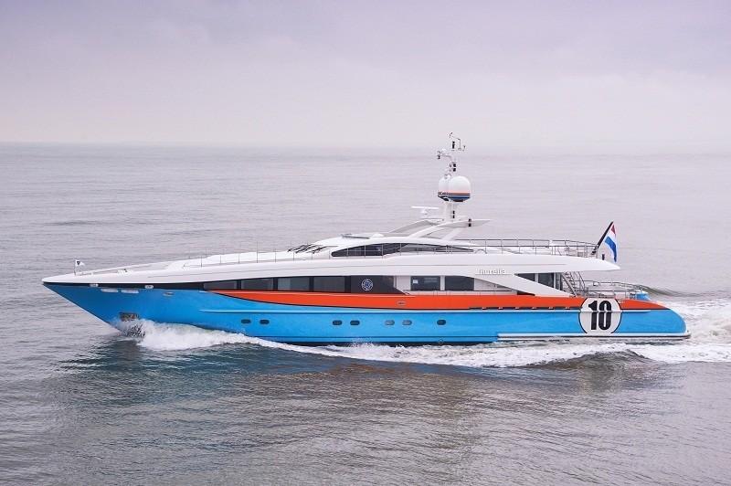 Profile: Yacht AURELIA's Cruising Image