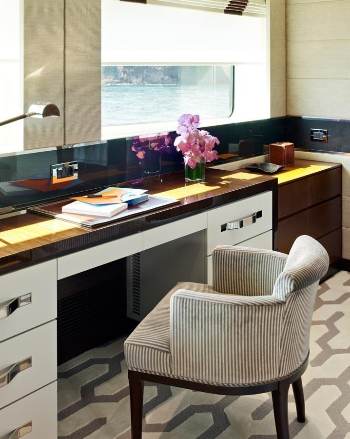 Office On Yacht AURELIA