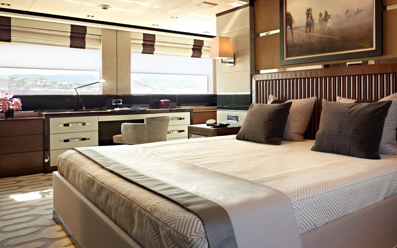 Guest's Cabin On Board Yacht AURELIA