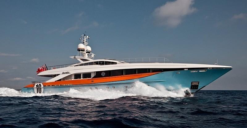 Cruising On Board Yacht AURELIA