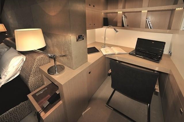 Office Aboard Yacht ESPRESSO
