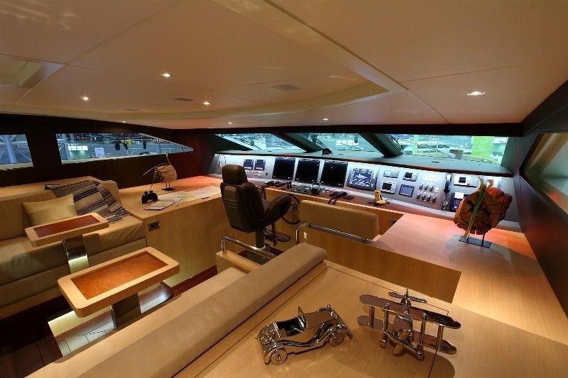 Bridgedeck On Yacht ESPRESSO