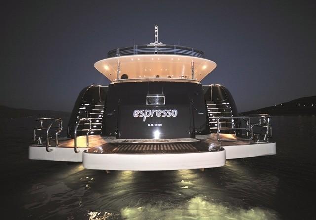 Aft On Yacht ESPRESSO