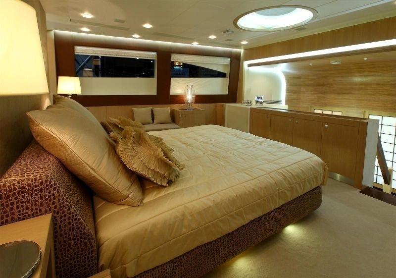 Main Master Cabin On Board Yacht ESPRESSO