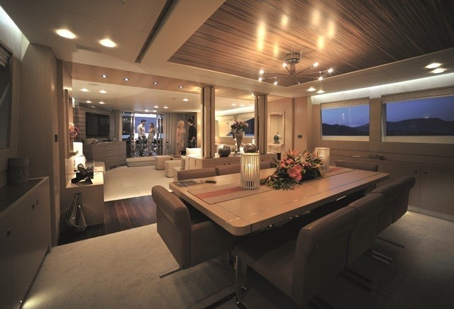 Premier Deck On Board Yacht ESPRESSO